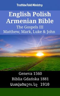English Polish Armenian Bible - The Gospels III - Matthew, Mark, Luke & John