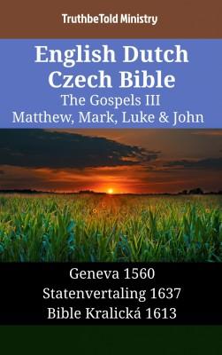 English Dutch Czech Bible - The Gospels III - Matthew, Mark, Luke & John