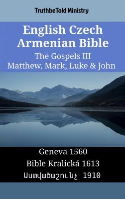 English Czech Armenian Bible - The Gospels III - Matthew, Mark, Luke & John