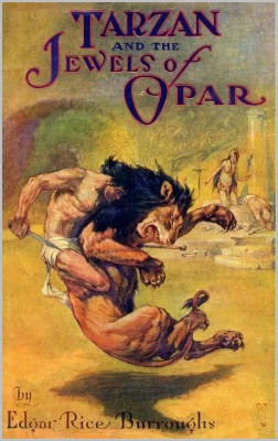Tarzan and the Jewels of Opar by Edgar Rice Burroughs from PublishDrive Inc in Classics category