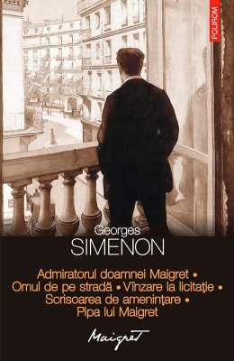 Admiratorul doamnei Maigret. Omul de pe strad?. Vînzare la licita?ie. Scrisoarea de amenin?are. Pipa lui Maigret by Jay Busbee from Publish Drive (Content 2 Connect Kft.) in General Novel category