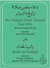 Doa Selepas Shalat Terawih Dan Witir Ratib Alhaddad