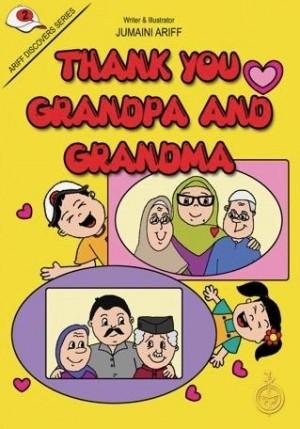 THANK YOU GRANDPA & GRANDMA - Read Aloud