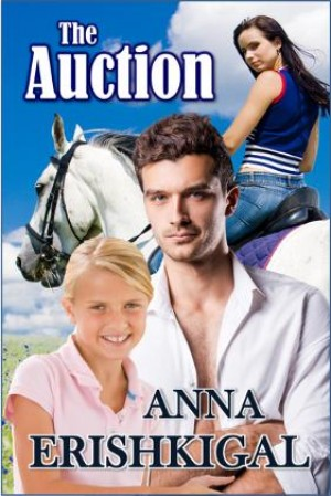 The Auction (A Sweet Contemporary Western Romance) by Anna Erishkigal from Seraphim Press in Romance category