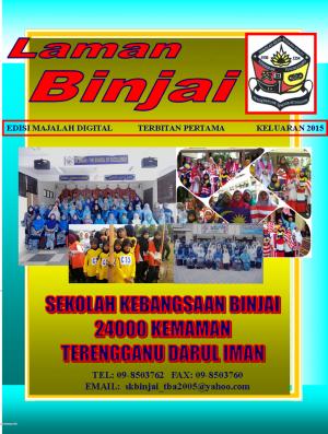 Majalah Tahunan 2015  SK Binjai by SK Binjai from SK BINJAI in School Magazine category