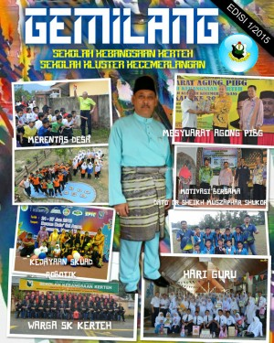Majalah Tahunan 2015  SK Kerteh