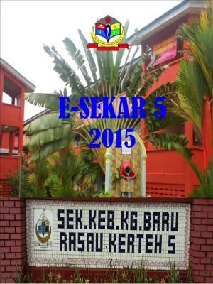 Majalah Tahunan 2015  SK Kg Baru Rasau Kerteh