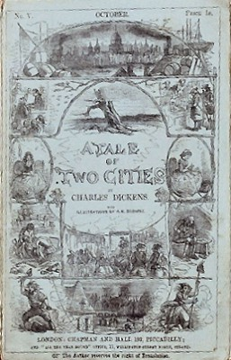 a comparison of england and france in the novel a tale of two cities