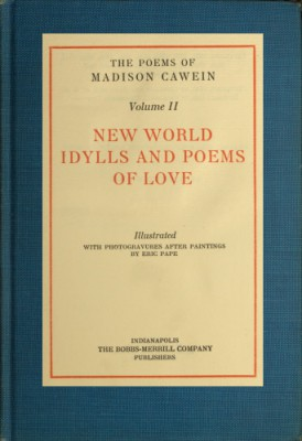 The Poems of Madison Cawein, vol. 2 by Madison Julius Cawein from StreetLib SRL in Classics category