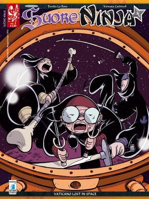 Suore Ninja n° 2 - Vaticano lost in space by Davide La Rosa from StreetLib SRL in Comics category