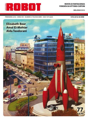 Robot 77 by Silvio Sosio from StreetLib SRL in General Novel category