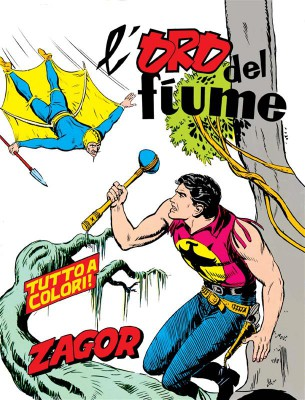 Zagor. Loro del fiume by  Gallieno Ferri from StreetLib SRL in Comics category