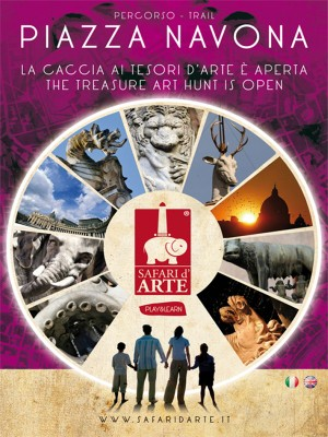 Safari d'arte Roma – Percorso Piazza Navona by Associazione Ara Macao from StreetLib SRL in Travel category