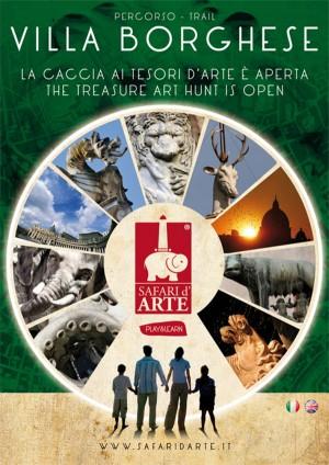 Safari d'arte Roma – Percorso Villa Borghese