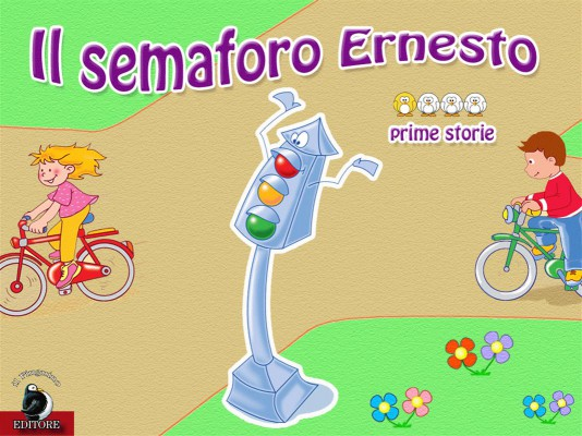 Il semaforo Ernesto by Valentina Falanga from StreetLib SRL in Teen Novel category
