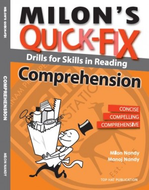 Milon's Quick Fix: Drills For Skills In Reading Comprehension by Milon Nandy, Manoj Nandy from  in  category
