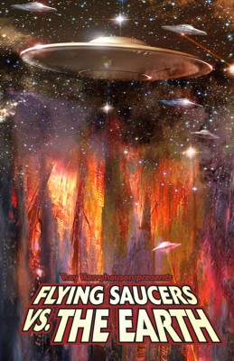 Ray Harryhausen Presents: Flying Saucers Vs. the Earth by Ryan Burton from Trajectory, Inc. in Comics category
