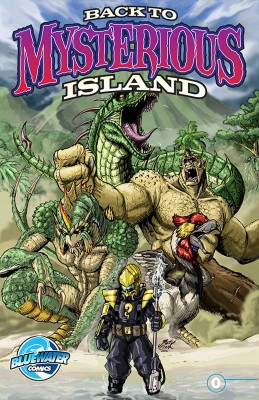 Ray Harryhausen Presents: Back to Mysterious Island by Max Landis from Trajectory, Inc. in Comics category
