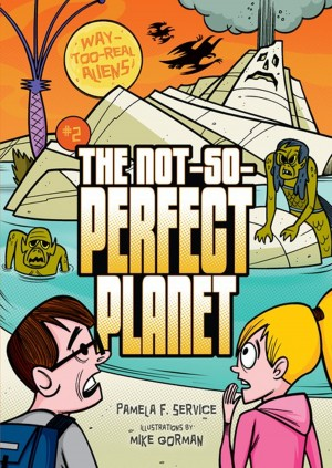 #2 The Not-So-Perfect Planet by Pamela F. Service from Trajectory, Inc. in Teen Novel category