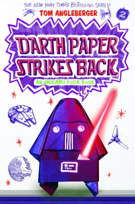 Darth Paper Strikes Back by Tom Angleberger from Trajectory, Inc. in Teen Novel category