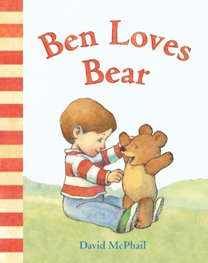 Ben Loves Bear by David McPhail from Trajectory, Inc. in Teen Novel category