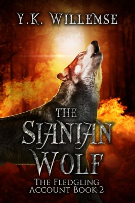 The Sianian Wolf #2 by Y.K. Willemse from Trajectory, Inc. in Teen Novel category