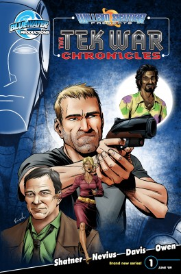 William Shatner Presents: The Tekwar Chronicles Vol. 1 #1 by Scott Davis from Trajectory, Inc. in Comics category