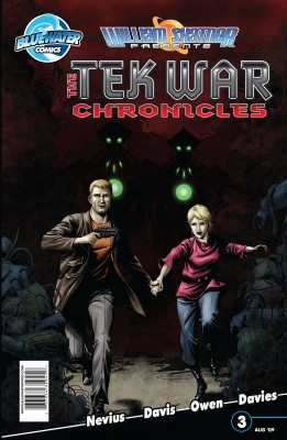 William Shatner Presents: The Tekwar Chronicles Vol. 1 #3 by Scott Davis from Trajectory, Inc. in Comics category