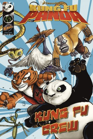 Kung Fu Panda: Kung Fu Crew by Matt Anderson from Trajectory, Inc. in Comics category