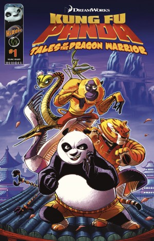 Kung Fu Panda v.1 by Quinn Johnson from Trajectory, Inc. in Comics category