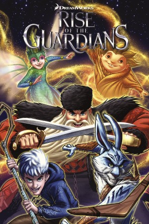 Rise of the Guardians: Hidden Truth and Other Stories by Ben Lichius from Trajectory, Inc. in Comics category