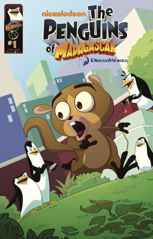 Penguins of Madagascar: Volume 2 Issue 1 by Dale Server from Trajectory, Inc. in Comics category
