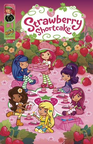 Strawberry Shortcake: Berry Fun Issue 1 by Georgia Ball from Trajectory, Inc. in Comics category