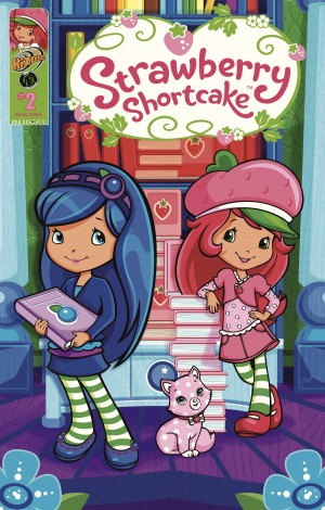 Strawberry Shortcake: Berry Fun Issue 2 by Georgia Ball from Trajectory, Inc. in Comics category