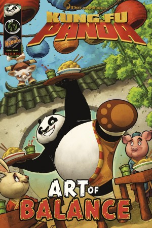 Kung Fu Panda: Art of Balance by Matt Anderson from Trajectory, Inc. in Comics category