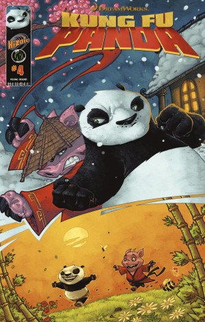 Kung Fu Panda Vol.1 Issue 4 by Matt Anderson from Trajectory, Inc. in Comics category