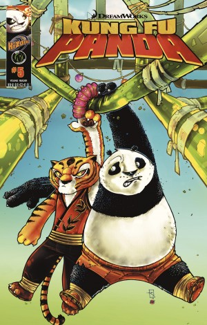 Kung Fu Panda Vol.1 Issue 5 by Quinn Johnson from Trajectory, Inc. in Comics category