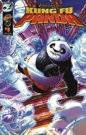 Kung Fu Panda Vol.1 Issue 6 by Quinn Johnson from Trajectory, Inc. in Comics category