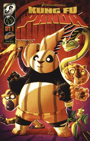 Kung Fu Panda Vol.1 Issue 1 by Matt Anderson from Trajectory, Inc. in Comics category