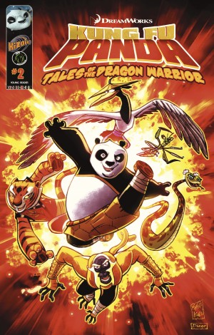 Kung Fu Panda Vol.2 Issue 2 by Troy Dye from Trajectory, Inc. in Comics category