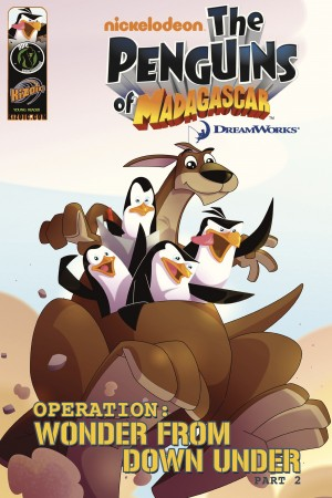 Penguins of Madagascar: Wonder from Down Under Part 2 by Dale Server from Trajectory, Inc. in Comics category