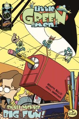 Little Green Men Vol. 3 Small Package Big Fun by Jay Fosgitt from Trajectory, Inc. in Comics category