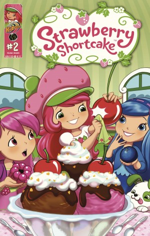 Strawberry Shortcake Vol.2 Issue 2 by Georgia Ball from Trajectory, Inc. in Comics category