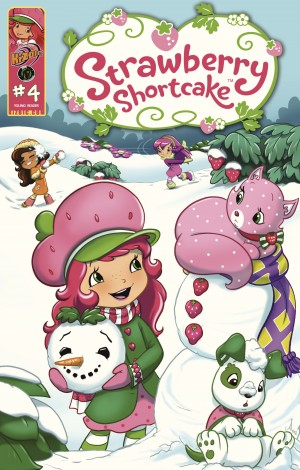 Strawberry Shortcake Vol.2 Issue 4 by Georgia Ball from Trajectory, Inc. in Comics category