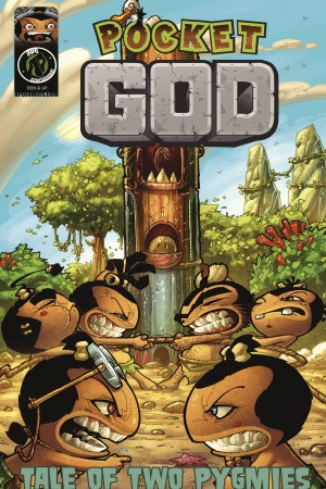 Pocket God: Tale of Two Pygmies by Jason M. Burns from Trajectory, Inc. in Comics category