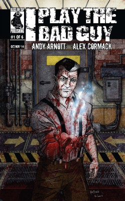 I Play the Bad Guy Issue 1 by Andy Arnott from Trajectory, Inc. in Comics category