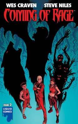 COMING OF RAGE #2 by Wes Craven from Trajectory, Inc. in Comics category