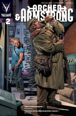 Archer &  Armstrong (2012) Issue 2 by Fred Van Lente from Trajectory, Inc. in Comics category