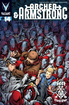 Archer &  Armstrong (2012) Issue 14 by Fred Van Lente from Trajectory, Inc. in Comics category