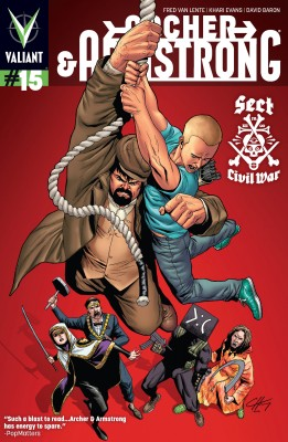 Archer &  Armstrong (2012) Issue 15 by Fred Van Lente from Trajectory, Inc. in Comics category